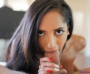 Chloe Amour point-of-view blowjob