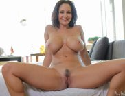 Ava Addams gets her big tits drenched with cum