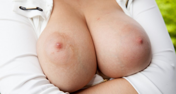Marina Visconti's perfect breasts