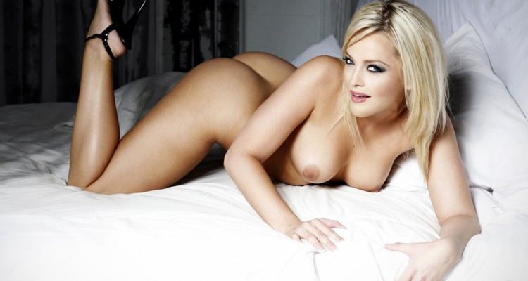 Alexis Texas poses nude for Elegant Angel