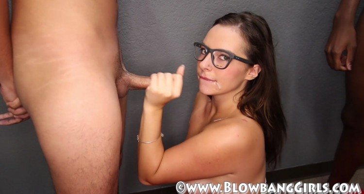 Sexy Nixon with cum on her face
