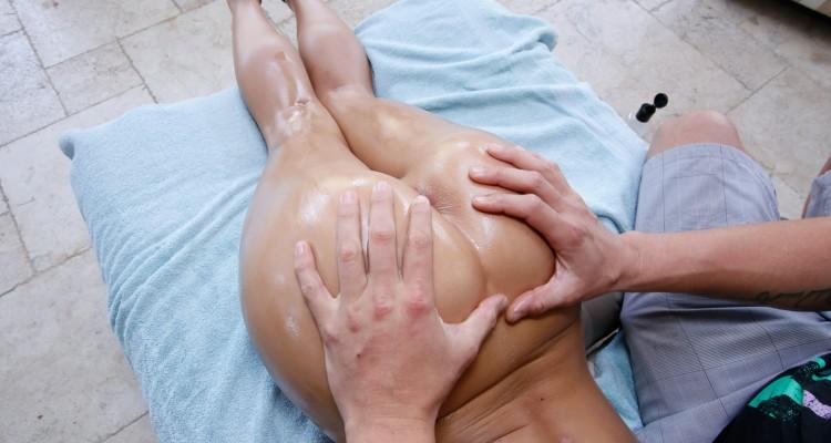 Grabbing Abby's fine ass