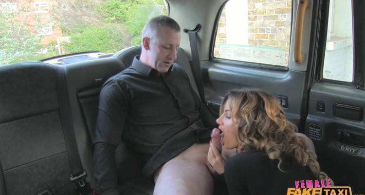 Elicia blowjob from Female Fake Taxi