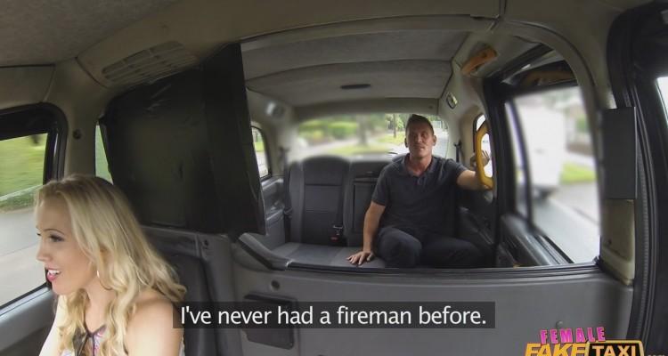 Rebecca picks up a fireman