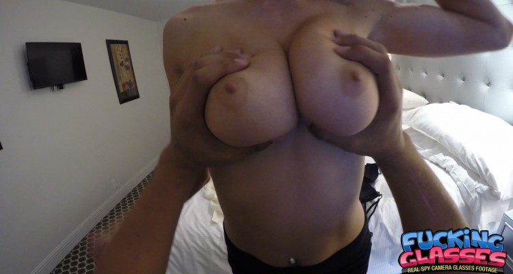 Squeezing some big beautiful breasts