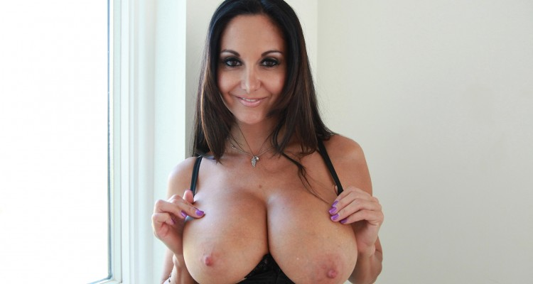 Ava Addams flashing her massive tits