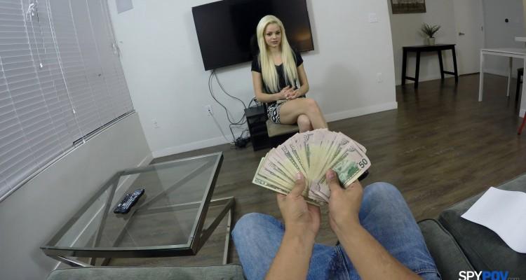 Elsa trades sex for cash