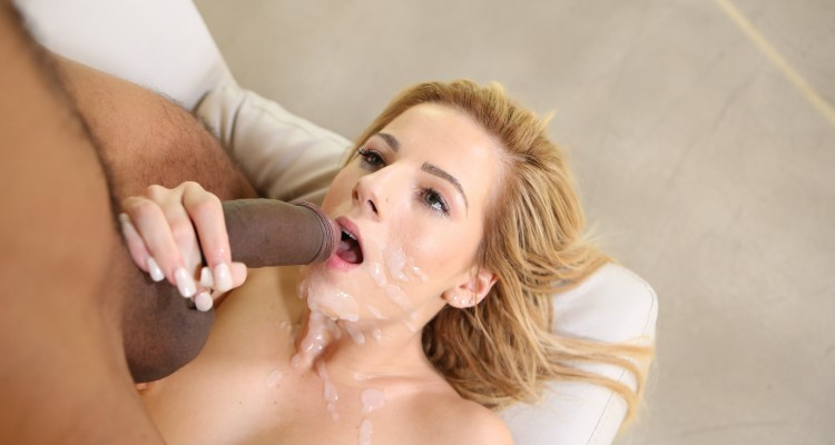 Bella Rose gets a massive facial