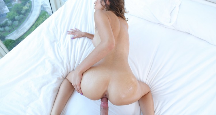 Melissa Moore spreading her ass