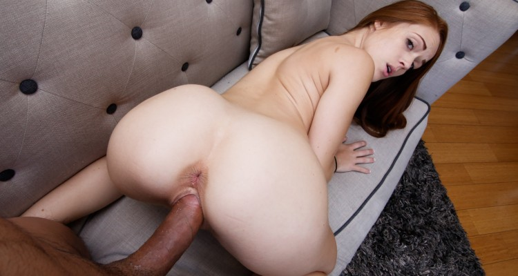 Kimberly takes a huge cock deep in her pussy