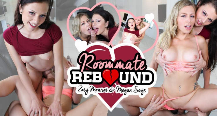 Zoey Monroe and Megan Sage VR fantasy