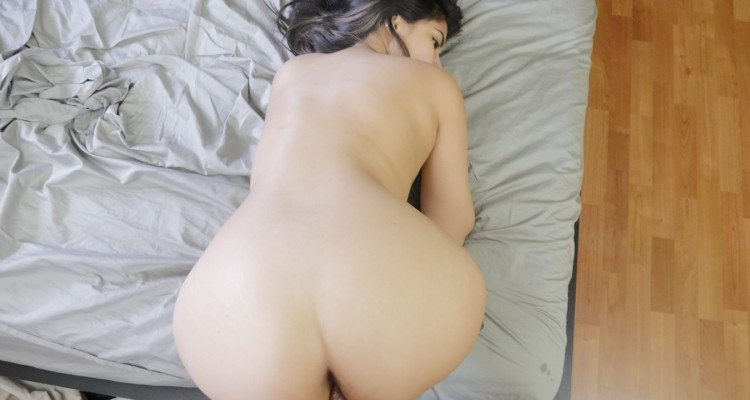Jeleana Marie bends over for his cock