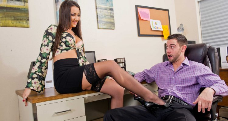 Lily Adams teases her new boss