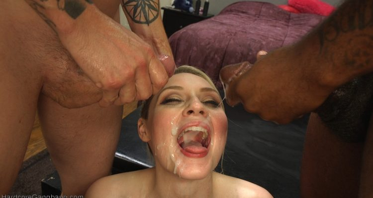 Ariella opens wide for multiple loads of cum